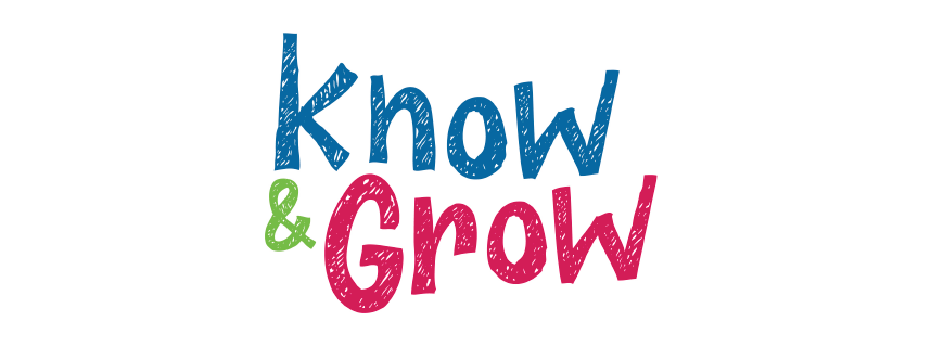 Know and grow logo