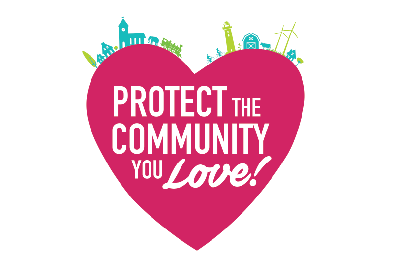 Protect the community you love logo